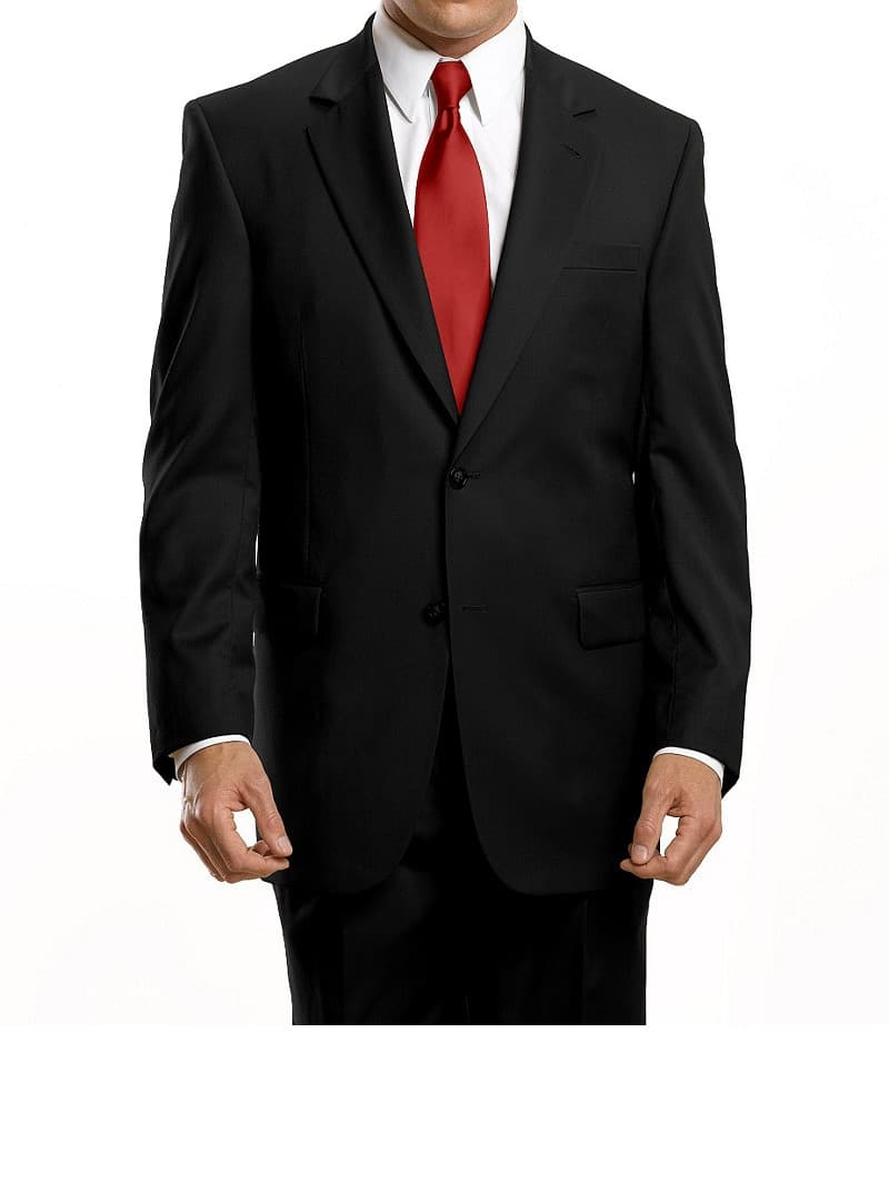 Size 40 Long or 41 Long ONLY: Jos Bank Signature Traditional Fit Wool Suit w/ Pleated Front Pants $38.80 + free shipping