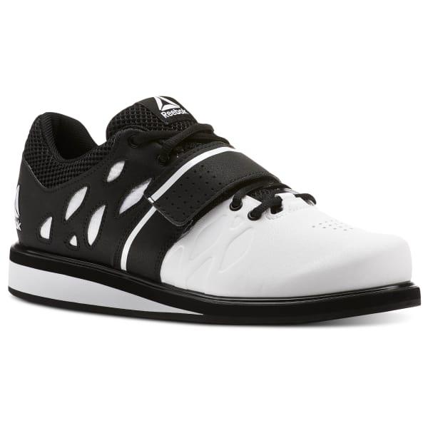 Reebok Lifting Shoes: Lifter PR (white/black) $28, Legacy Lifter (white/cobalt) $74 + free shipping