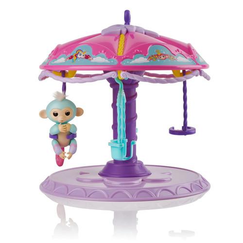 WowWee Fingerlings Carousel w/ Abagail Monkey $6 + free shipping for Kohls Cardholders