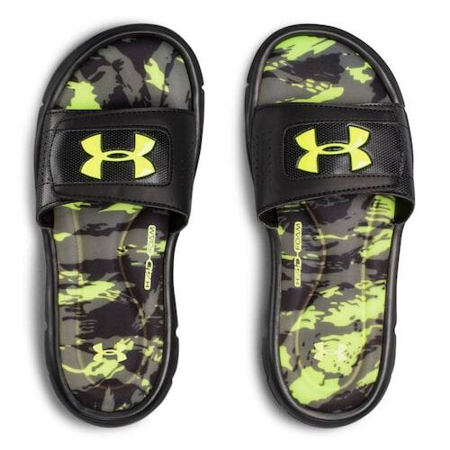 Under Armour Ignite Kids' Slide Sandals $12.80 + free shipping for Kohls Cardholders