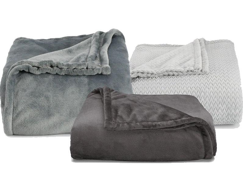 Kohls Cardholders: 2-Pack The Big One Super Soft Plush Blanket (any size) + Plush Throw $32.24 + Free shipping