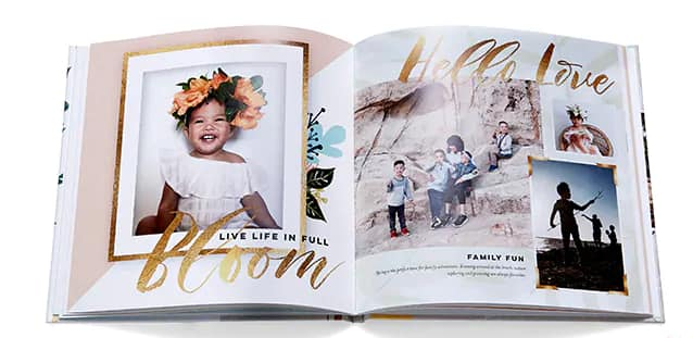 """20-Page Shutterfly 8""""x8"""" Hardcover Photo Book $8 Shipped"""