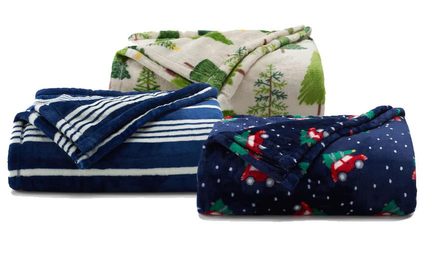 Kohls Cardholders: The Big One Supersoft Plush Throw (various) 3 for $16.77 ($5.59 each) + free shipping