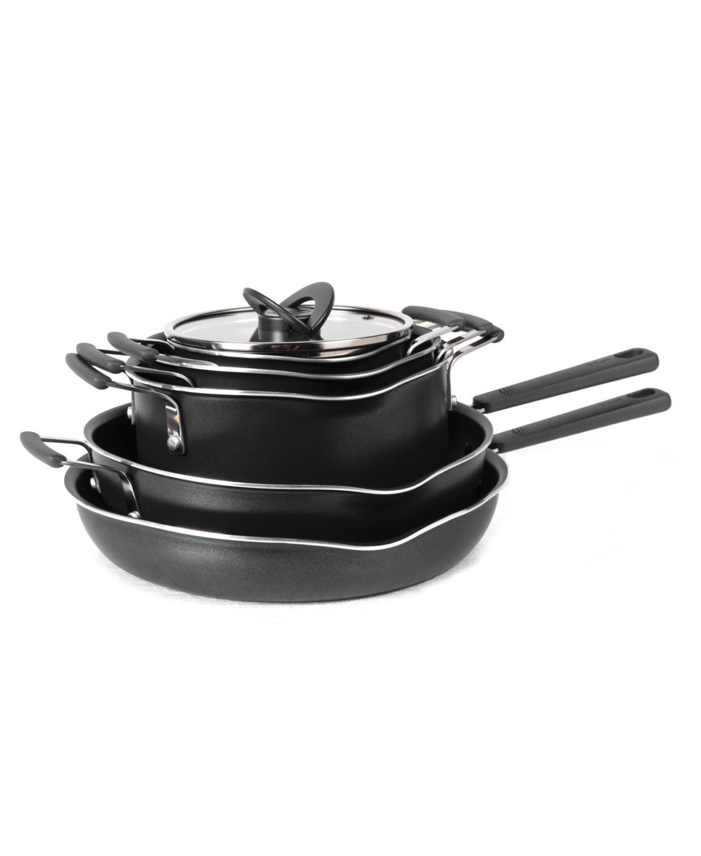 10-Piece T-Fal Stackables Titanium Non-Stick Cookware Set + $10 Macys eGift Card $60 via Slickdeals Rebate + free store pickup at Macys
