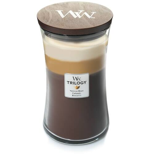 Kohls Cardholders: 21.5-Oz Large Woodwick Jar Candles (various) 3 for $37 ($12.35 each) + free shipping