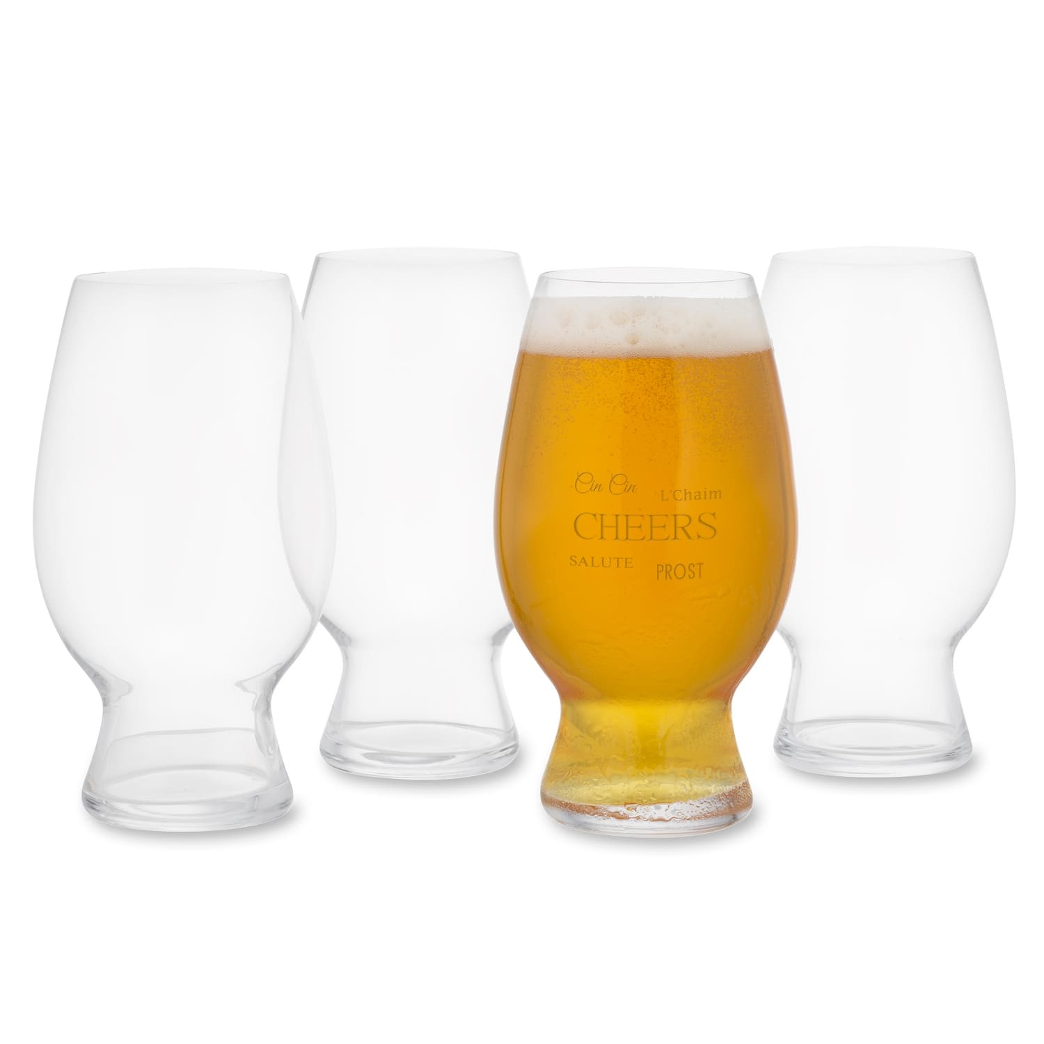 4-Count 26-Oz Spiegelau American Wheat Beer Glass Set $8.50 + Free shipping