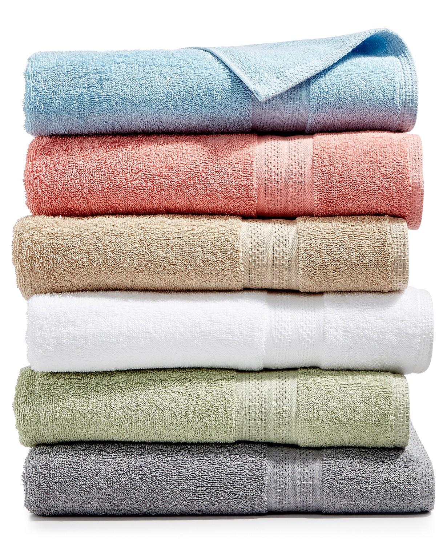 Sunham Soft Spun Cotton Washcloth $1, Hand Towel $2, Bath Towel $3 + Free Store pickup at Macys or free shipping on $25+