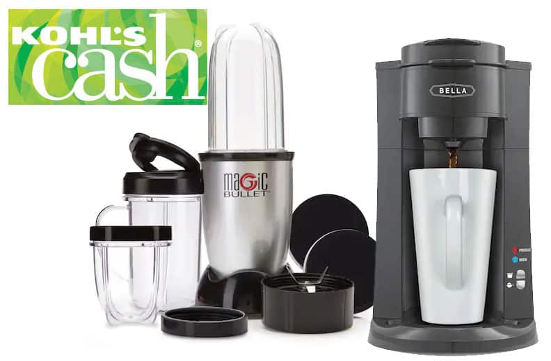 11-Pc Magic Bullet Blender, Bella Coffee Maker & More + $15 ...