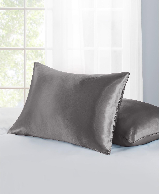 Home Design Satin Zippered Pillow Protector Set $2 after rebate + free pickup at Macys