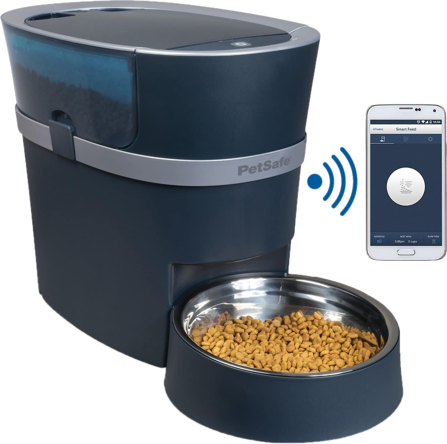 New Chewy Autoship Customers: PetSafe Smart Feed Automatic Pet Feeder for iPhone & Android $101.66 + free shipping
