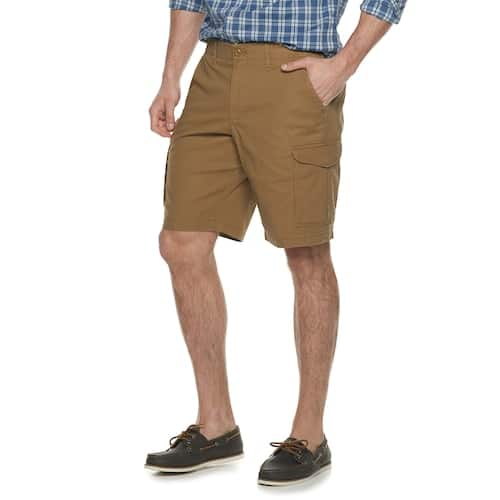 Kohls Cardholders: Big & Tall SONOMA Goods for Life Stretch Ripstop Cargo Shorts (size 46-54) $3.92 + free shipping