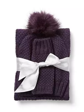 Ny and Company: 3-Piece Women's Infinity Scarf, Hat, Fingerless Glove Set (various) $6, 2-Piece Hat and Glove Set $5 + free shipping