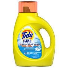 Tide Simply Clean Laundry Detergent (various): 34-oz Tide Simply Clean & Fresh Liquid Laundry Detergent $2, More + Free Store Pickup at Walgreens