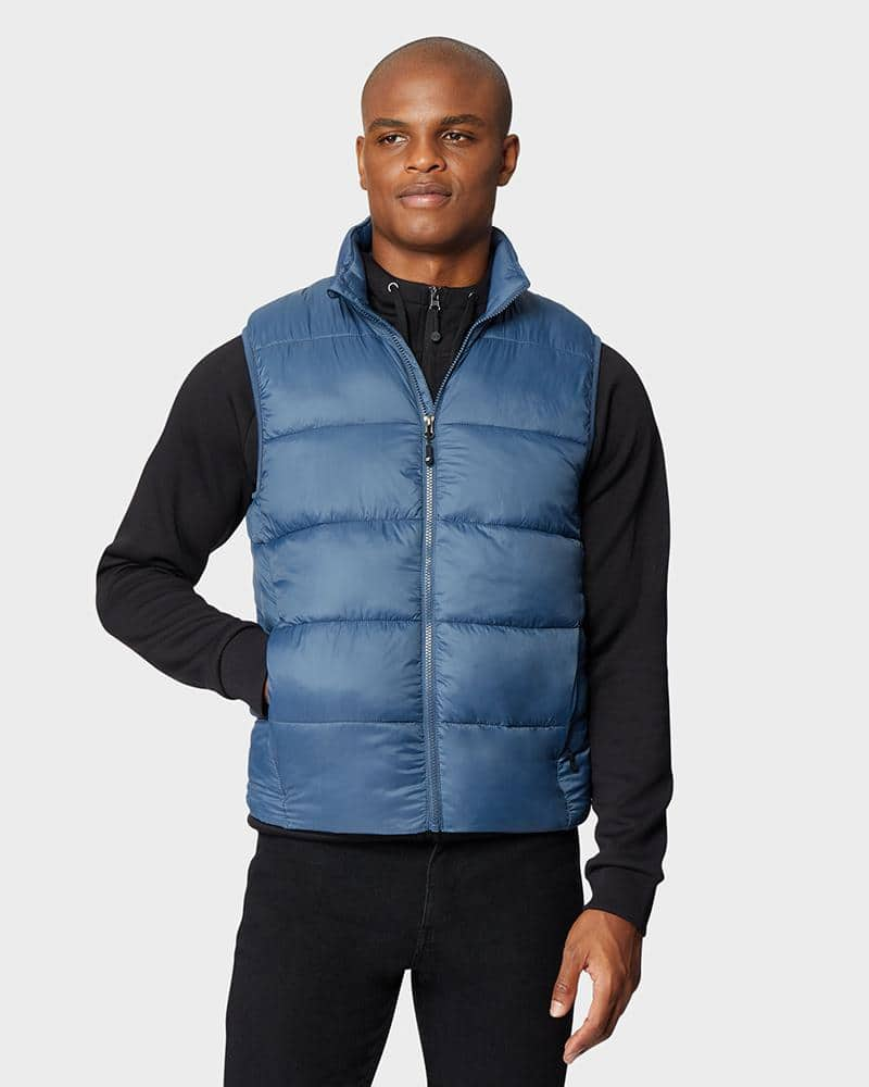 32 Degrees Men's Cloudfill Puffer Vest $14, Women's Ultra-Light Down Blend Vest $15, Men's Sherpa Mix Media Fleece Jacket $15, More + free shipping on $24