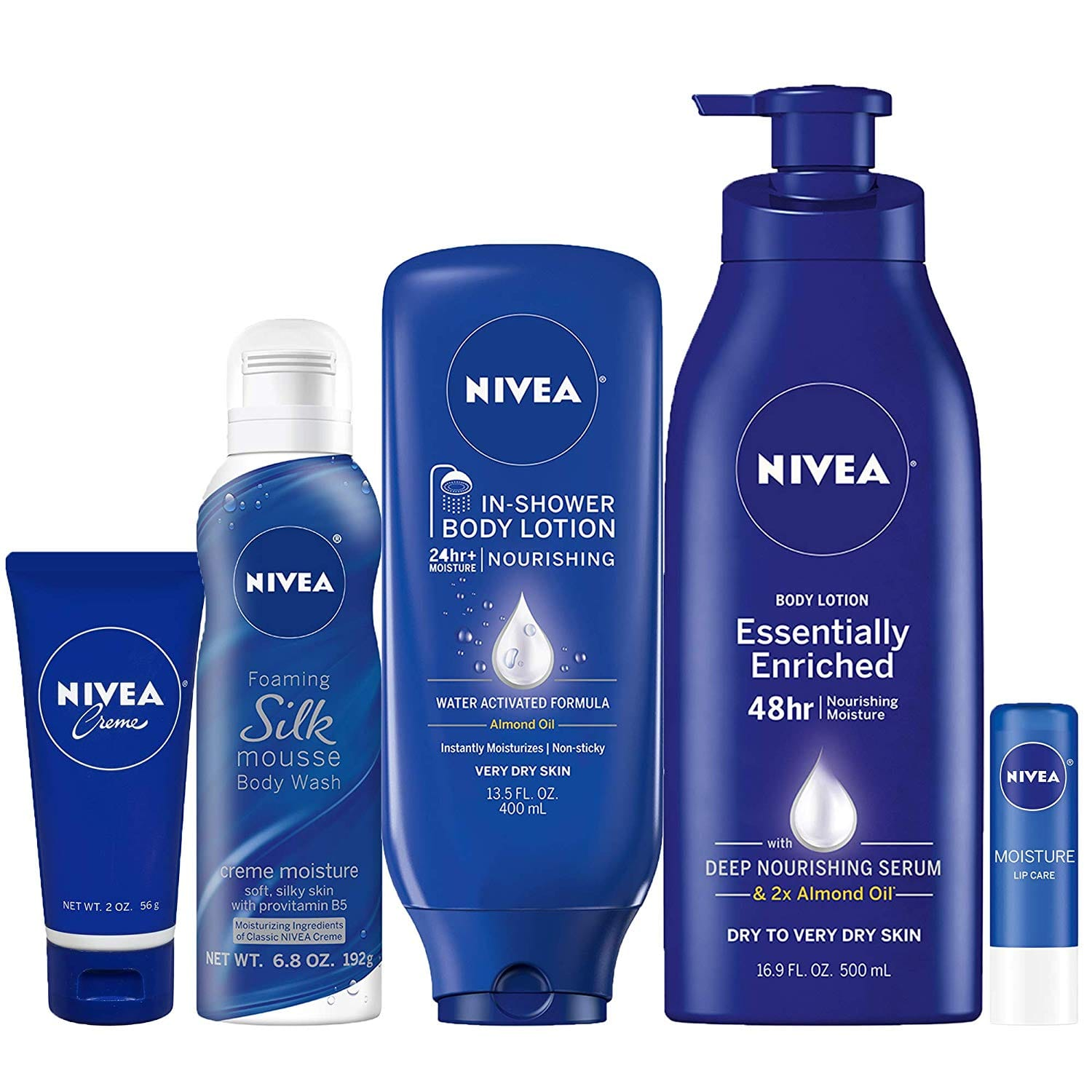 5-Piece Nivea Pamper Time Gift Set