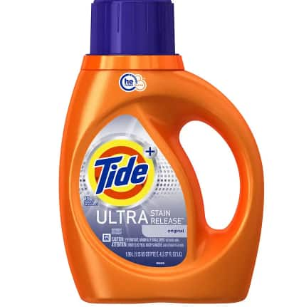 Tide Liquid Detergent 37oz Ultra Stain