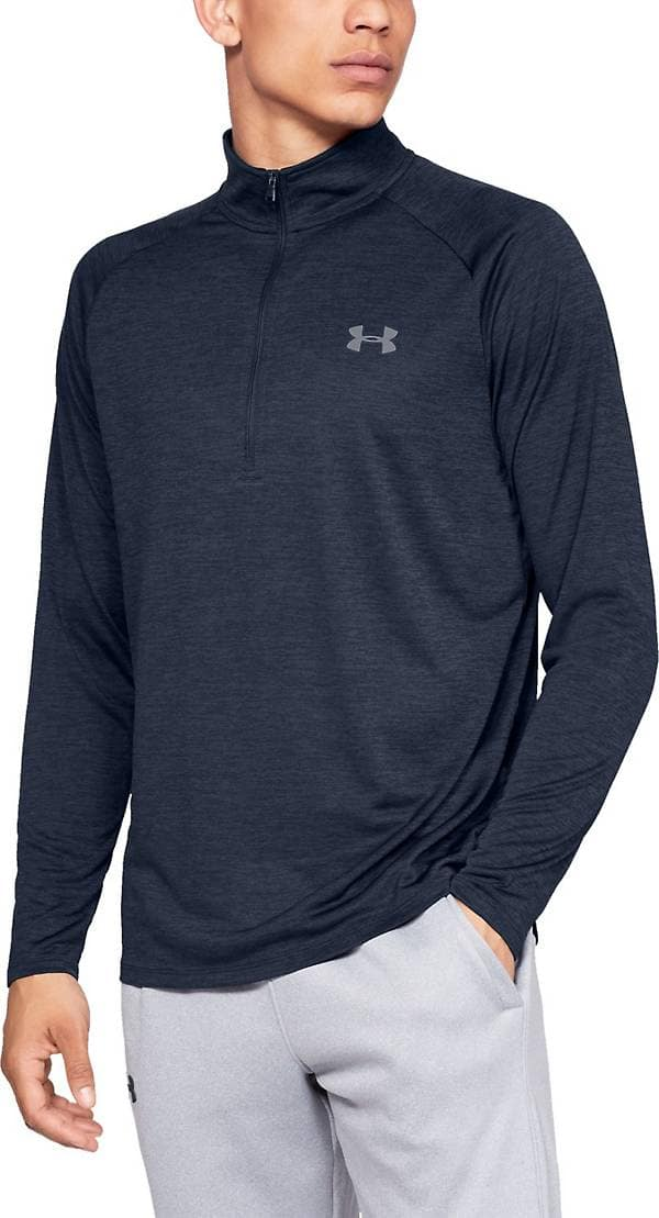 Under Armour: Men's Tech 1/2 Zip Warmup Top $16.80, Men's Vital Woven Pant $17.50, Women's Rival Fleece Sportstyle Graphic Hoodie $17.50, More + free shipping on $25+