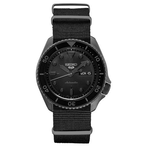 Kohls Cardholders: Seiko Men's Black Nylon NATO Strap Automatic Diver Watch + $30 Kohls Cash $158.28+ free shipping
