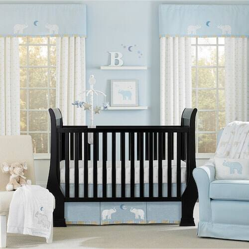 4-Piece Wendy Bellissimo Walk With Me Crib Bedding Set $21.24 (or $17.50 for Kohls Cardholders) (Blanket, Dust Ruffle, Printed Crib Sheet, Raffia Storage Basket)