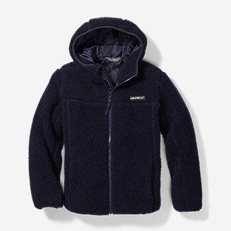 Eddie Bauer Big Boys' or Girl's Quest Sherpa Fleece Jacket $13.50, Big Girls' Fleece Sherpa-Lined Hoodie $9, Infant Quest Sherpa Fleece Jacket $9, More + FS