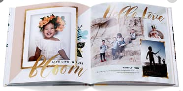 """Shutterfly 20-Page 8""""x 8"""" Hardcover Photo Book"""