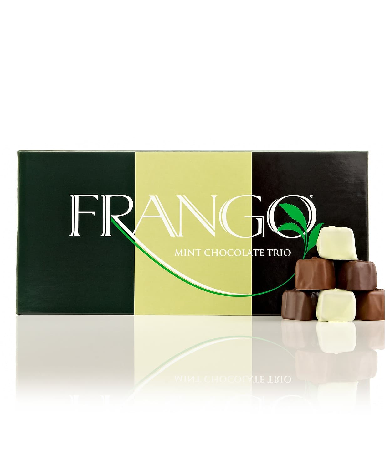 45-Piece/1-lb Frango Box of Chocolates (mint trio, milk toffee, dark, more) $8.39 each + free ship on $25+