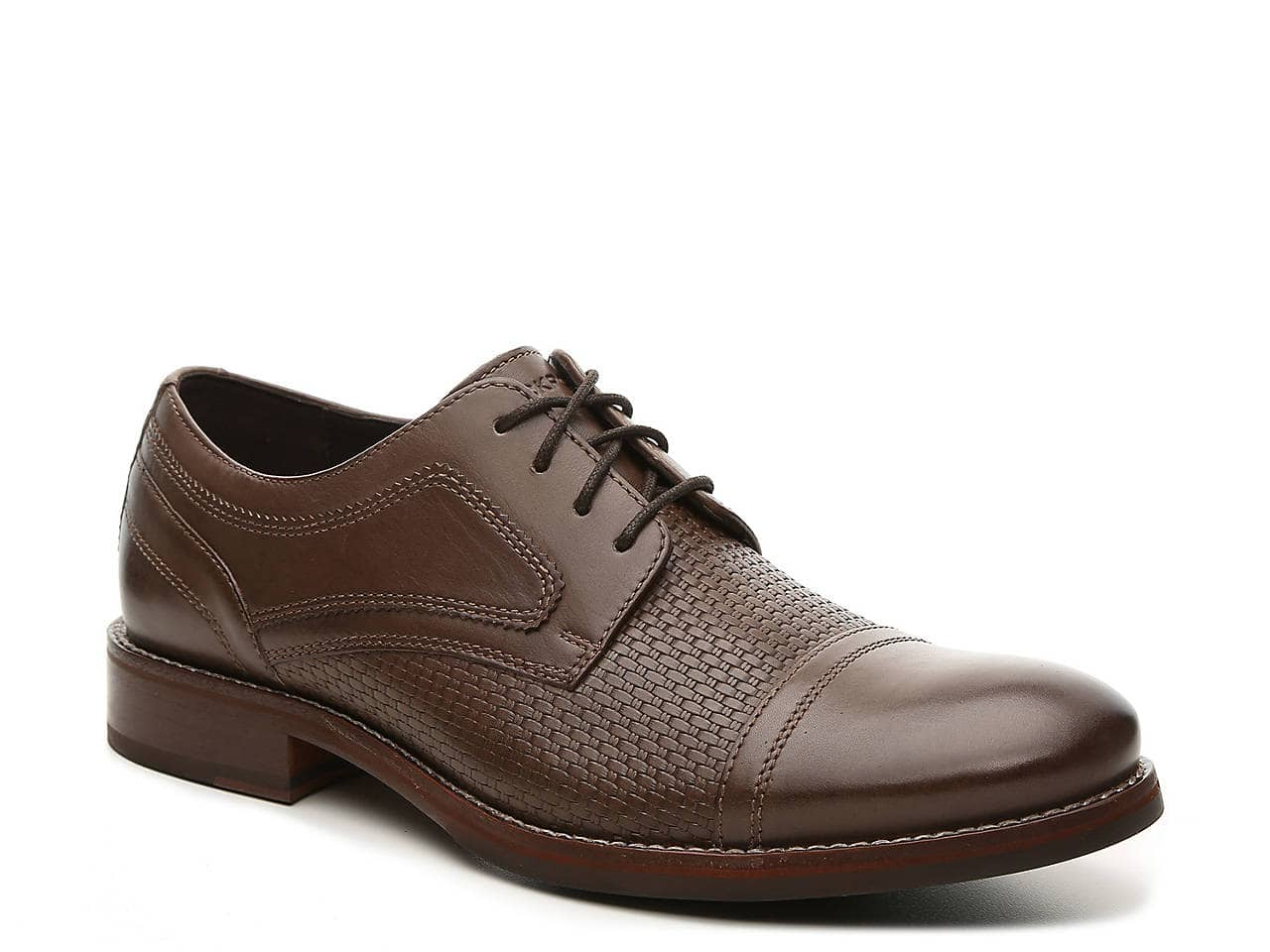 Rockport Men's Leather Oxford Shoes (various) $30, Men's Waterproof Storm Surge Boot $33, Men's SL2 Slip-On (wide) $30, Women's Ruby Sandal $21, More + free shipping