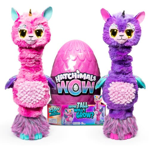 "32"" Hatchimals WOW Llalacorn Tall Interactive Hatchimal with Re-Hatchable Egg $30 (or 2 for $50, $25 each) + free store pickup at Target or free ship on $35"