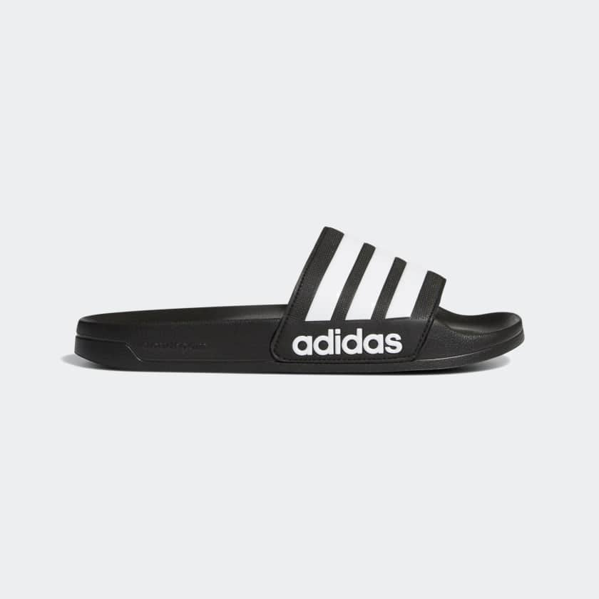 adidas Adilette Slide Sandals: Women's Aqua $12.60, Men's Cloudfoam EXPIRED