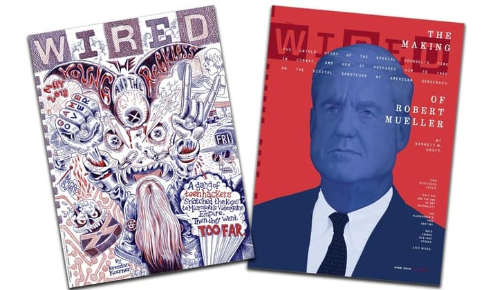 1 Yr Magazine Subscriptions 2 Each 11 Issue Wired 2 10 Issue