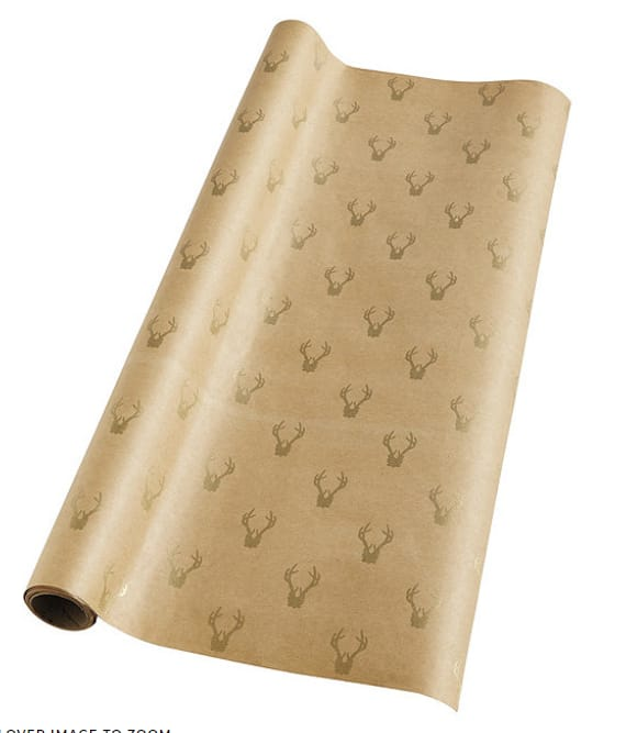 Suzanne Kasler Classic Gift Wrap (Stripe, Antler, or Holiday Designs) $2.09 + free shipping