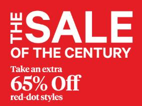 Century 21 Stores Coupon: Additional 65% Off Select Clearance + free shipping on $10+