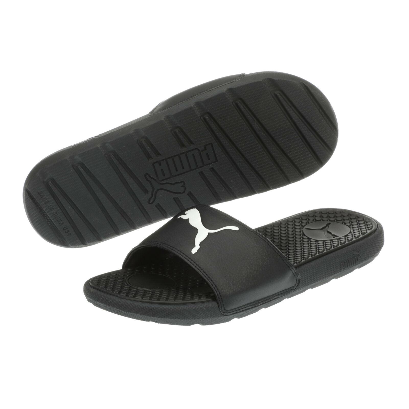 PUMA Women's Cool Cat Sport Slides Sandal (Black or Pink) $10 + free shipping