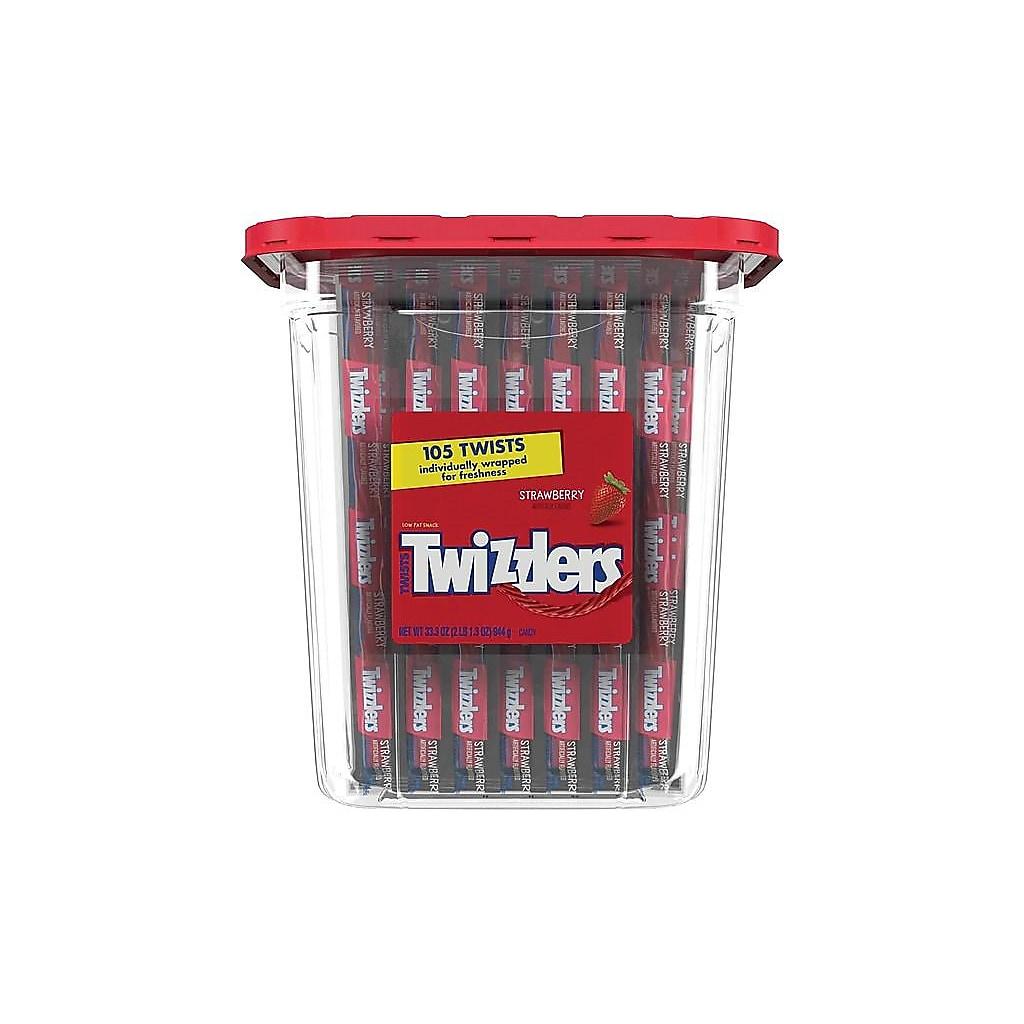 105-Piece Strawberry Twizzlers Twists Licorice Candy $5.29 + Free Shipping