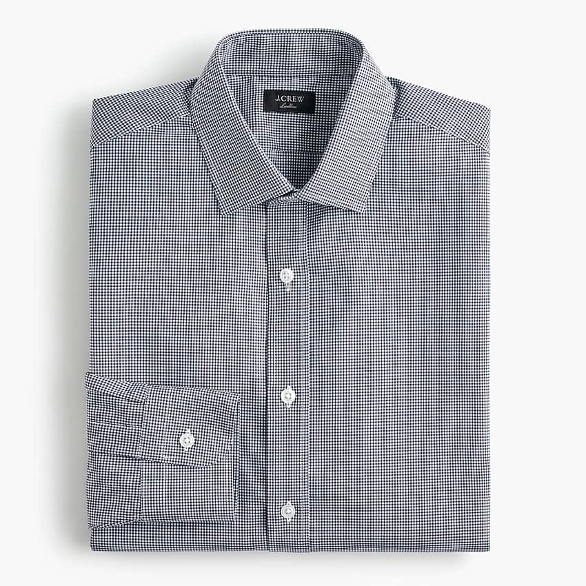 J Crew Men's Ludlow Stretch Two-Ply Easy-Care Cotton Dress Shirt $10.50, More + free shipping