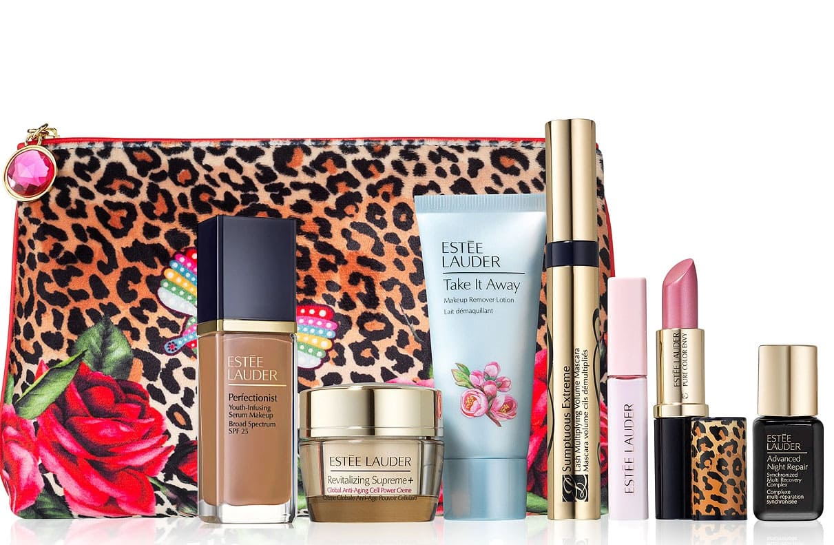 Estée Lauder Perfectionist Youth-Infusing Makeup + 1-Oz Cleanser + 7-Piece Gift (includes Full-Size Lipstick) $41.50 + free shipping, More