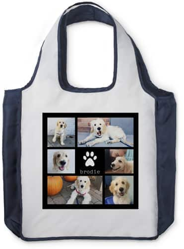 Shutterfly Personalized Reusable Shopping Bag, Cotton Tote or Drawstring Bag $8 each + free shipping