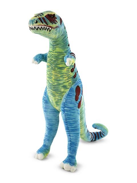 "Saks Off 5th: Buy 4 Kids' items get Additional 40% Off: 48"" Melissa & Doug Giant T-Rex Plush $45, Melissa & Doug Pizza Party $6, Melissa & Doug Alphabet Truck $10.19 + free  on $99"