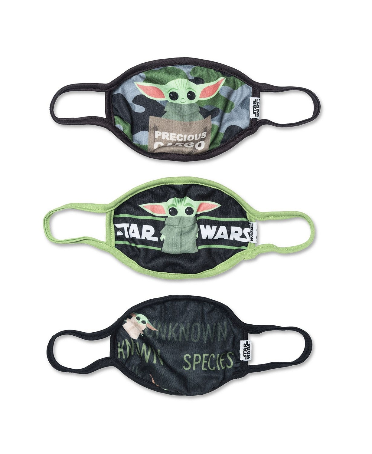 3-Count Disney Kids' Face Coverings $10 ($3.33 per mask, Star Wars, Marvel, Princess, Frozen, More) + free store pickup at Macys or free ship on $25