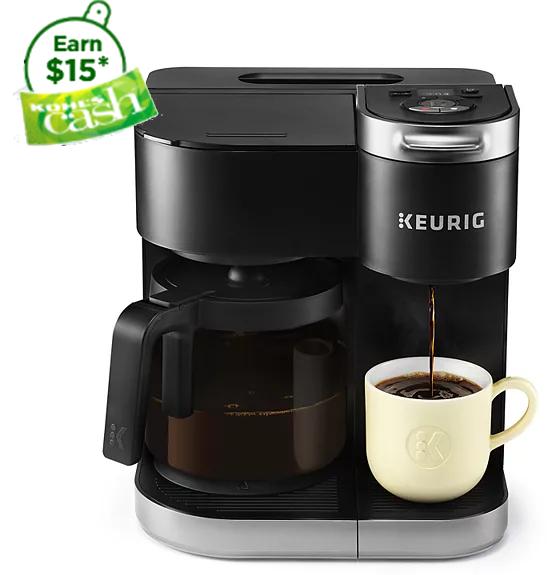 Keurig K-Duo Single-Serve & Carafe Coffee Maker + $15 in Kohls Cash $85 + free shipping
