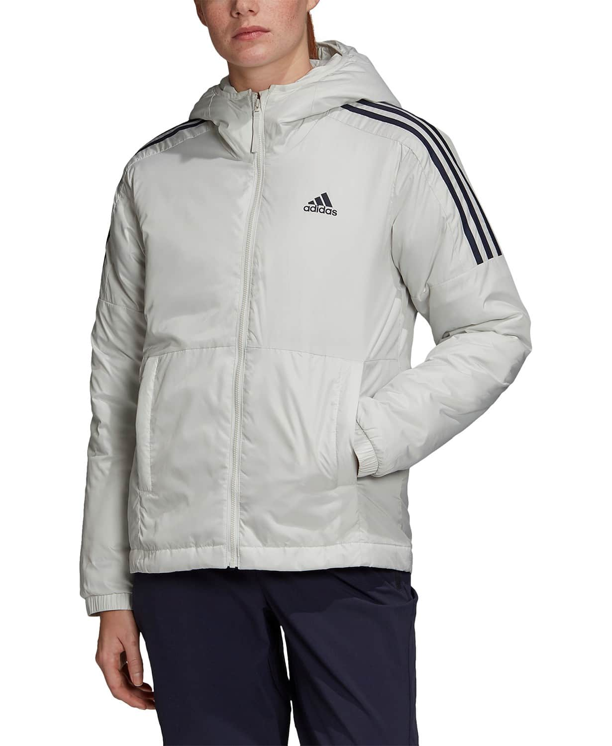adidas Women's Essentials Insulated Hooded Jacket $40, adidas Women's Back to Sport Insulated Hooded Jacket $40, More + free shipping