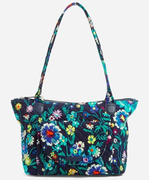 Vera Bradley 40% Off Outlet: Carson East West Tote Bag $19.20, Collegiate Zip ID w/ Lanyard (various) $4.80, Midtown Pouch Duo (hawthorn rose) $8.70 & More + Free S&H on $35+