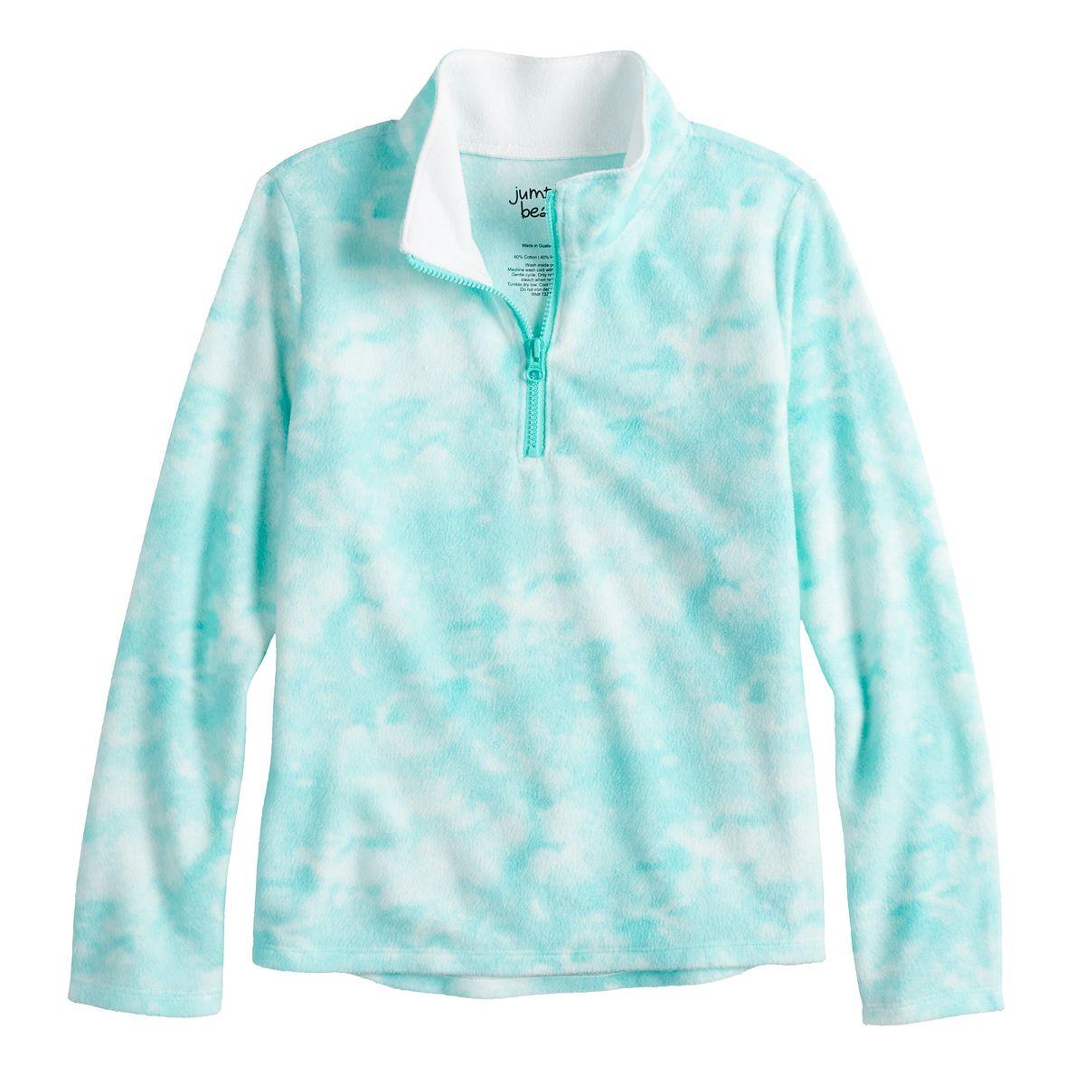 Kohls Cardholders: Girls 4-8 Jumping Beans Microfleece Quarter Zip Pullover $3.50 + free store pickup