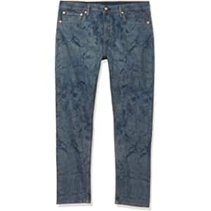 Levi's Men's 512 Slim Taper Fit Stretch Jeans (Dragon Snake Print) $15 + free shipping w/ Prime or on orders over $25