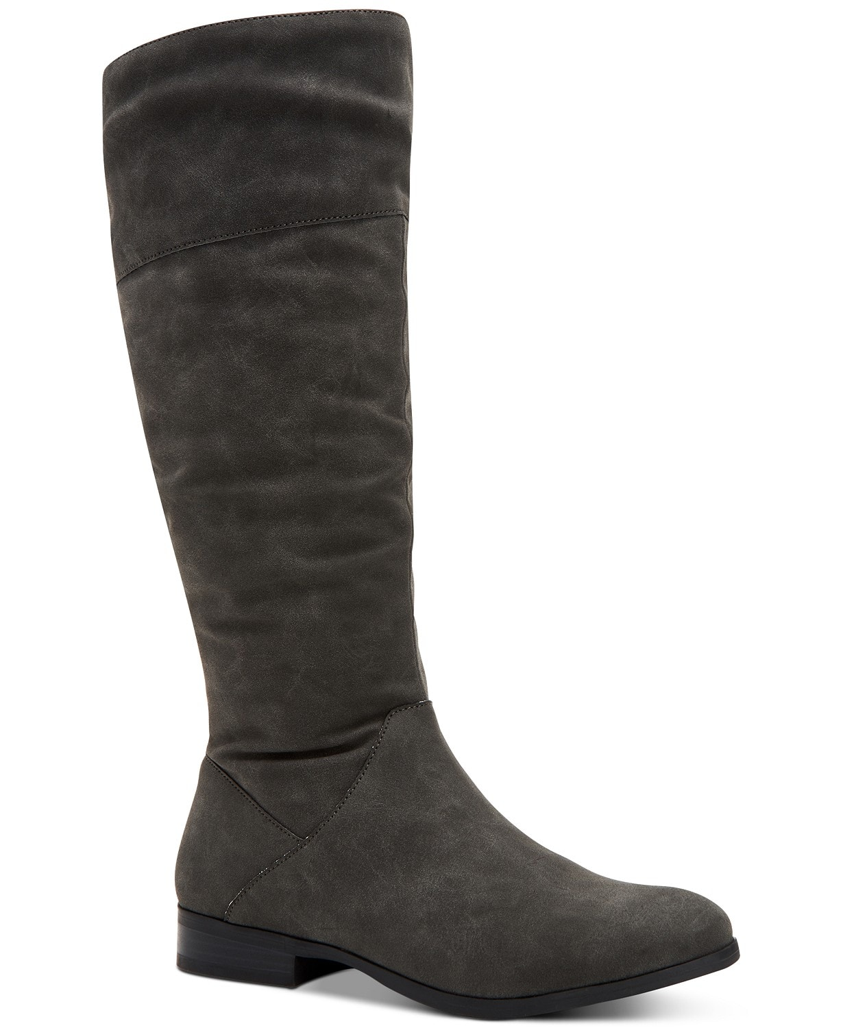 Macys Outerwear Flash Sale: Women's Style & Co Boots (Sachi Scrunched or Block Heel) $15 & More + Free Shipping on $25+