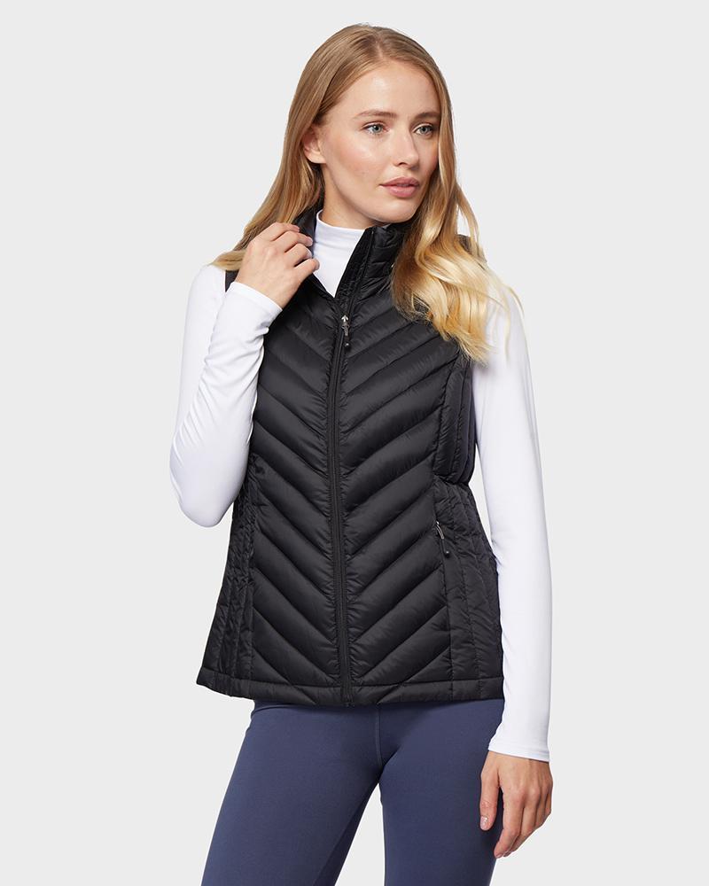 32 Degrees Women's 650-Fill Power Ultra-Light Down Vest $15, Men's Polar Sherpa Jacket $17, Women's 650-Fill Power Down 3/4 Jacket $33, Much More + free shipping on $28