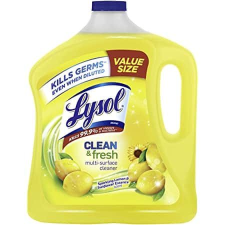 90-Oz Lysol Clean & Fresh Multi-Surface Cleaner (Lemon & Sunflower) $5 + Free Shipping w/ Prime or on $25+