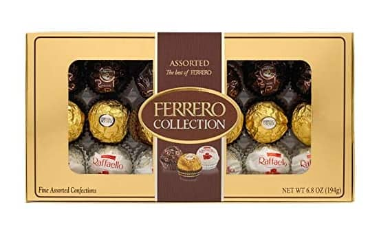 Chocolate at Woot: 6-Pack 18-Count Ferrero Rocher Fine Hazelnut Milk Chocolates (assorted) $22 ($3.66 ea) , More + 2.5% Slickdeals Cashback (PC Req'd) + free shipping w/ Prime