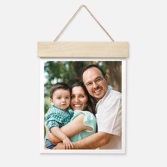 "Walgreen's Photo: 11""x14"" Wood Hanger Board Print $7.50 + Free Store Pickup"
