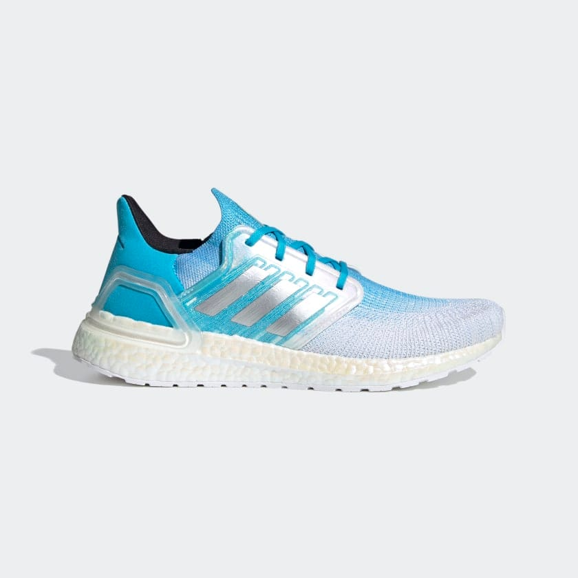 adidas Men's Ultraboost Running Shoes (blue and white) $72 + free shipping